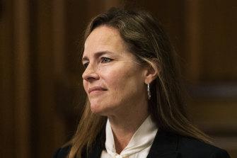 Supreme Court nominee Judge Amy Coney Barrett.