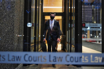 Ben Roberts-Smith leaves the Federal Court in July.