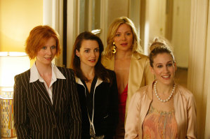Sex and the City, minus Samantha, is getting a TV revival.