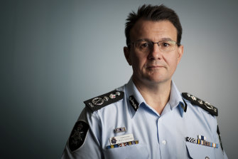 AFP Commissioner Reece Kershaw.