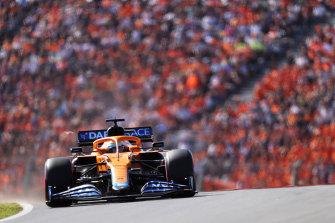 Daniel Ricciardo qualified 10th.