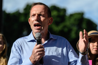 "Former PM Tony Abbott said low birth rates among middle class women is ""a real problem in every western country."""