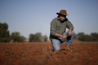"Fifth-generation canola, wheat and barley farmer Neil Westcott says climate change is ""the boiling frog""."