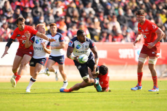 Isi Naisarani will return this week against the Western Force.