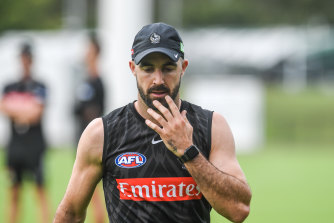 Steele Sidebottom will be back for the Pies this Thursday.