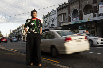 Newtown shop owner Celia Morris fears King Street will become even more congested.