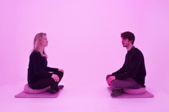 Wavepaths Space uses music to guide visitors through a drug-free psychedelic experience during their lunch hour.