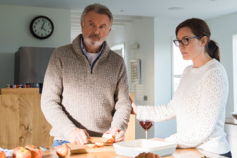 Sam Neill and Kate Winslet play a father and daughter coming to terms with family illness in Blackbird.