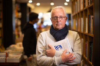 Chris Redfern, from Avenue Bookshops, was preparing to revert to click and collect.