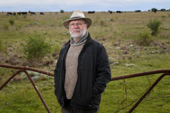 Peter Wlodarczyk has been studying and working on the regeneration of the grasslands.