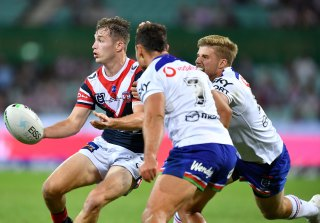 Teenager Sam Walker impressed on debut for the Roosters at the SCG on Sunday night.