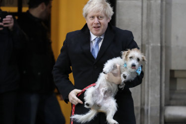 Exit polls predict Boris Johnson will win UK election in 'landslide'