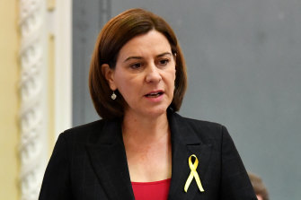 LNP leader Deb Frecklington says the rollout of the integrated electronic medical record should be halted until all issues are resolved.