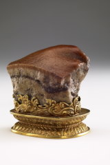 The Qing dynasty's Meat-Shaped Stone.