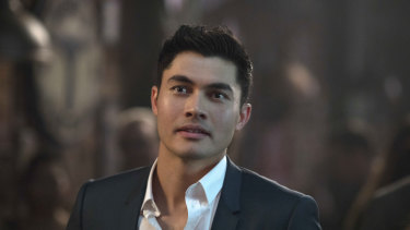 Henry Golding had never acted before landing the part of leading man Nick Young.