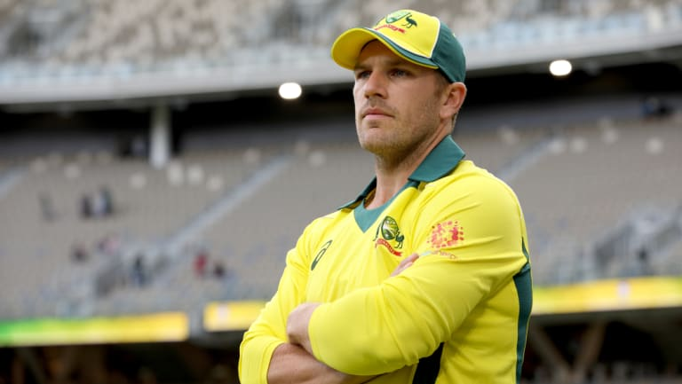 Aaron Finch was one of three Australian ODI captains in 2018.