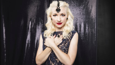 Kate Miller-Heidke will represent Australia at this year's Eurovision.