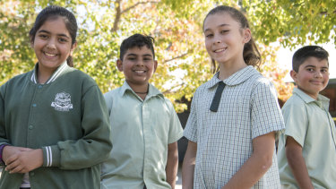 """Regular tests just end up in your report but mum said she cares about NAPLAN,"" said Saniya Misbah, 10."