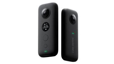 Insta360's One X is a sleek and compact 360 camera.
