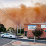 'Everything's filthy': Cleaners hit pay dirt after Mildura dust storm