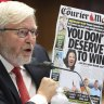 Media bargaining code will entrench Murdoch empire's dominance: Rudd