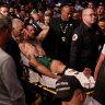 McGregor breaks leg in latest UFC loss to Poirier