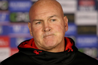Paul McGregor's time at the Dragons is over.