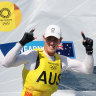 The emotional embrace Olympic champion Wearn waited six months for