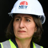 'We've taken the politics out of building things', says Berejiklian, in shadow of stadium saga