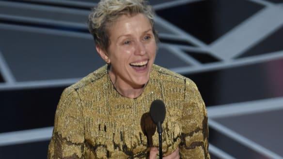 Red-carpet rebel Frances McDormand was makeup free at the Oscars