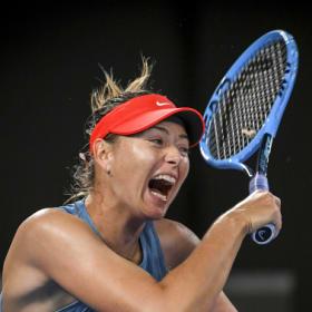 Open shock: Sharapova eliminates defending champion