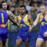 Eagles players 'devastated' but determined to not let Rioli news derail Cats clash