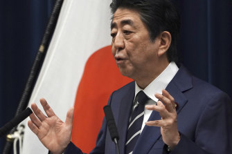 Japanese Prime Minister Shinzo Abe says he has asked for a postponement to the Tokyo Games.