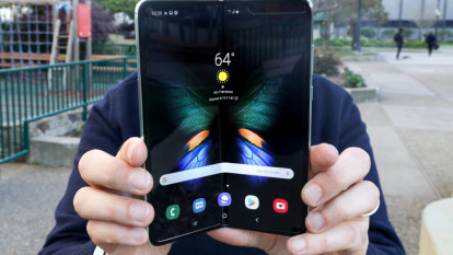 Making peace with a crease: hands on with Samsung's Galaxy Fold