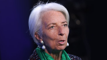 """If it had been Lehman Sisters rather than Lehman Brothers, the world might well look a lot different today,"" says IMF chief Christine Lagarde."
