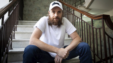 Billionaire software developer and philanthropist Mike Cannon-Brookes.