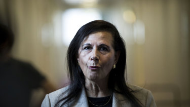 Concetta Fierravanti-Wells resigned as International Development Minister after backing Peter Dutton for the leadership of the Liberal Party.
