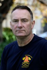 Peter Marshall, United Firefighters Union secretary
