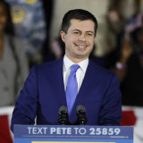 Democratic presidential candidate Pete Buttigieg enjoyed a win in the Iowa caucuses - eventually.