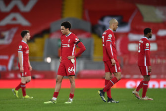 Even qualifying for the Champions League appears a pipe dream for Liverpool after a fifth straight loss at Anfield.