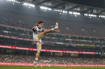 The MCG has been listed as a COVID exposure site for the Carlton-Geelong match last Saturday.