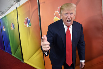 Sugar has no time for Donald Trump, who hosted the American version of the show from 2004 to 2015, calling him 'a wanker'.