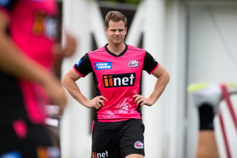 Steve Smith cannot wait to return for the Sixers with the gun batsman an outside chance to even open.