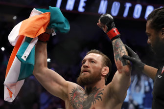 McGregor has now retired three times but all have been short-lived.
