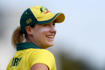 The all-conquering Ellyse Perry.