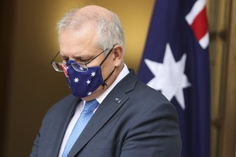 Prime Minister Scott Morrison announces his four phase plan after Friday's national cabinet meeting.