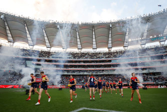 Optus Stadium in Perth will host the AFL grand final.