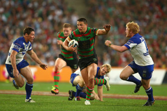 The potential return of Sam Burgess is fraught with issues.
