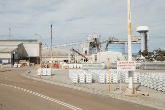Tomago Aluminium smelter.