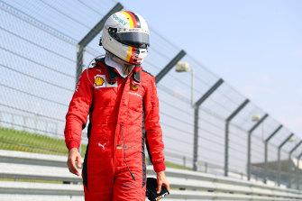 Sebastian Vettel has struggled with Ferrari this season.